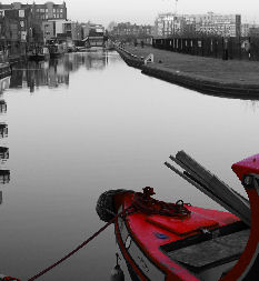 Edinburgh's Union Canal, the canal boat Kelpie, picture Rob wilkinson edinburgh